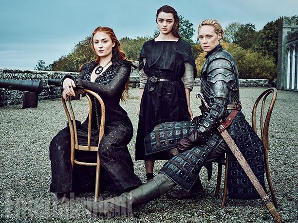 """""""Dames of Thrones"""", retratos de las reinas de Westeros"""