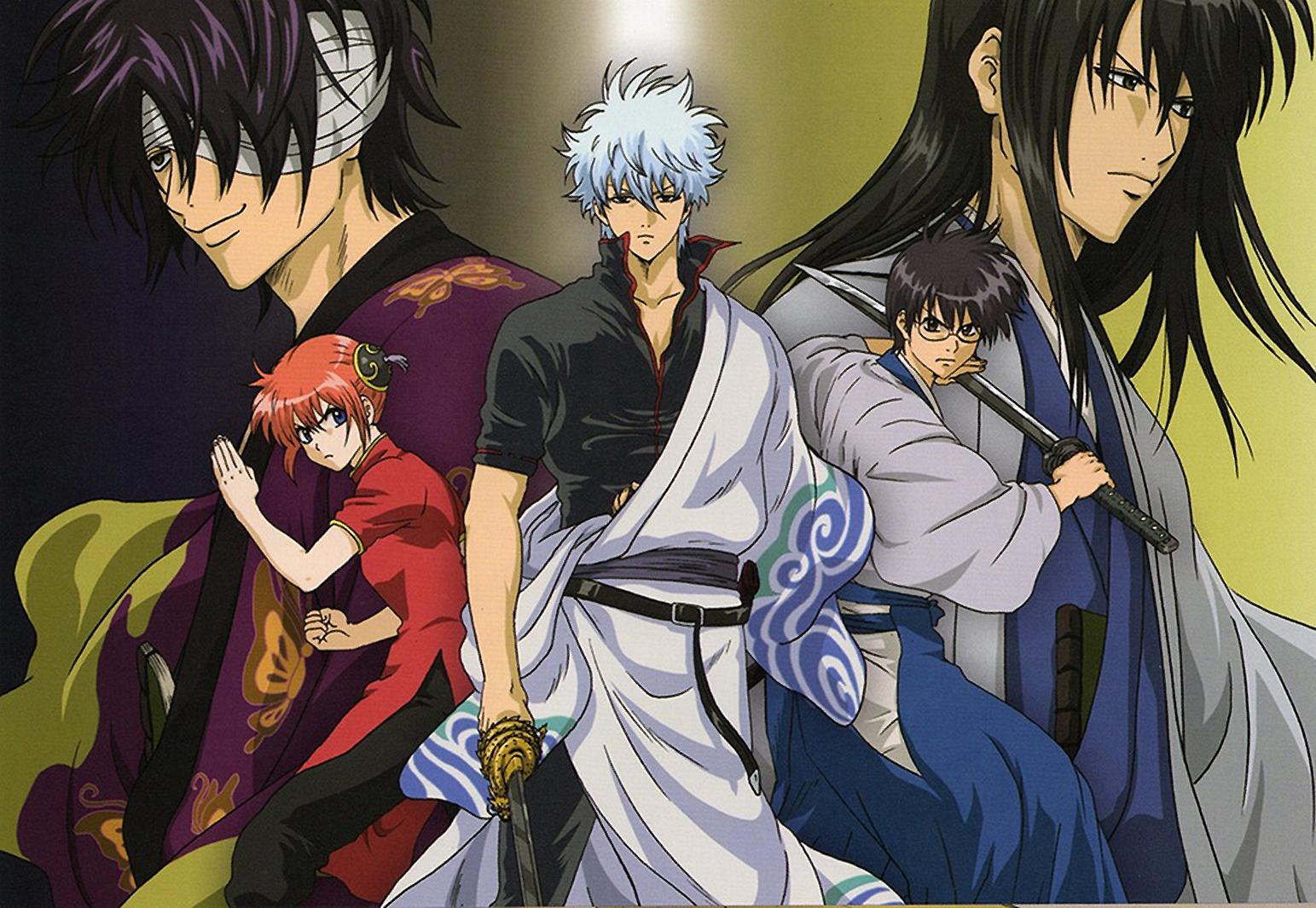 El anime en emisión de Gintama finalizará este mes