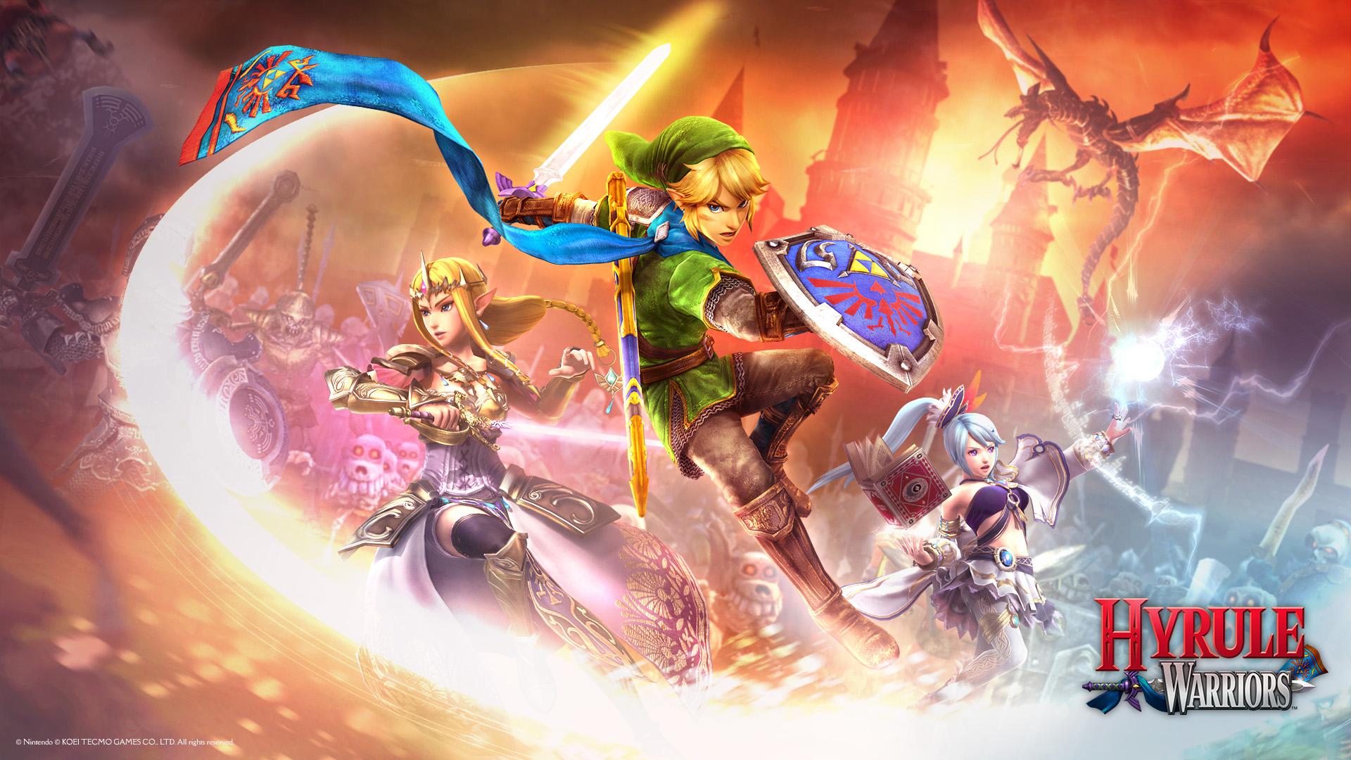 Revelados nuevos personajes y DLC de Hyrule Warriors Legends para 3DS