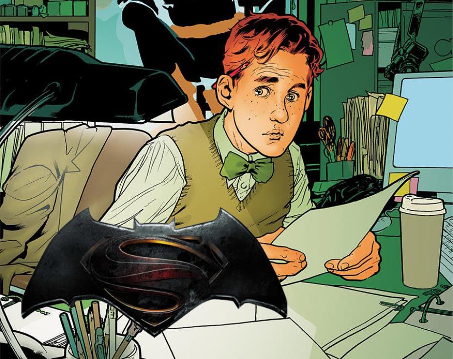 Jimmy Olsen sí aparece en Batman v Superman