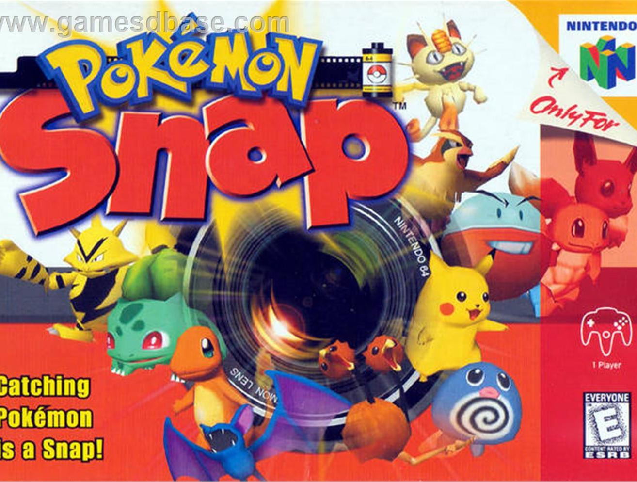 Pokémon Snap saldrá a la venta para la Wii U en Japón