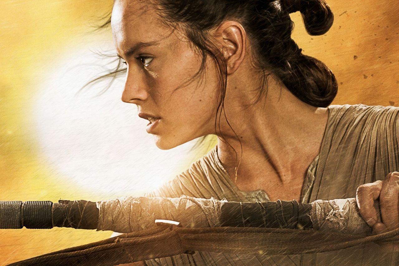 El error en el abrazo de Leia en El Despertar de la Fuerza