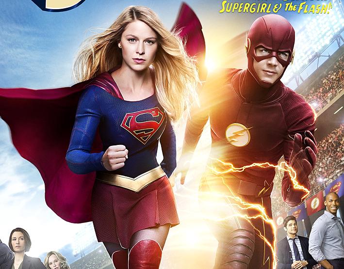 Primer vistazo al crossover de Supergirl y Flash