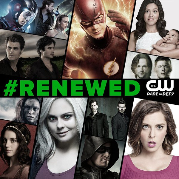 The CW renueva Arrow, The Flash, Legends of Tomorrow, The 100 y 7 series más