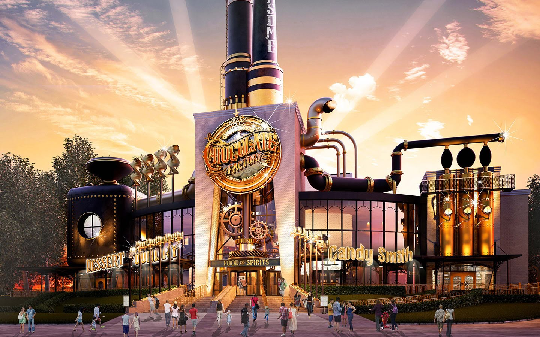 Universal Studios abrirá un restaurante parecido a la fábrica de Willy Wonka