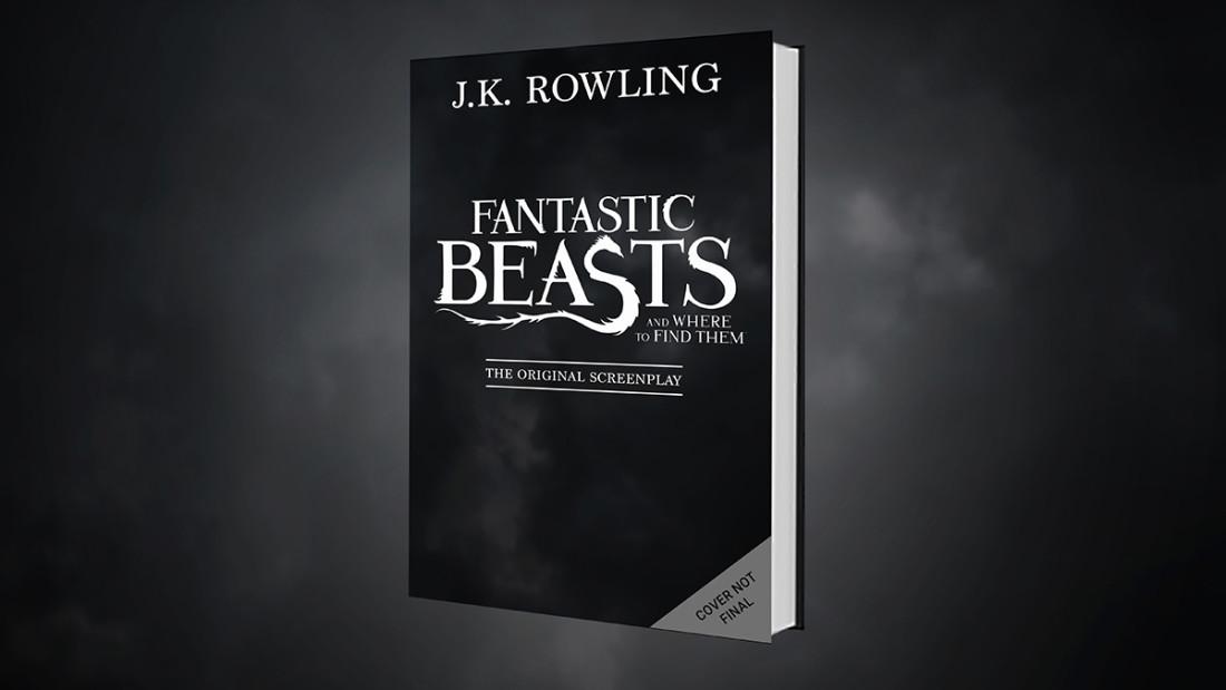 El guión original de Animales Fantásticos será publicado como libro