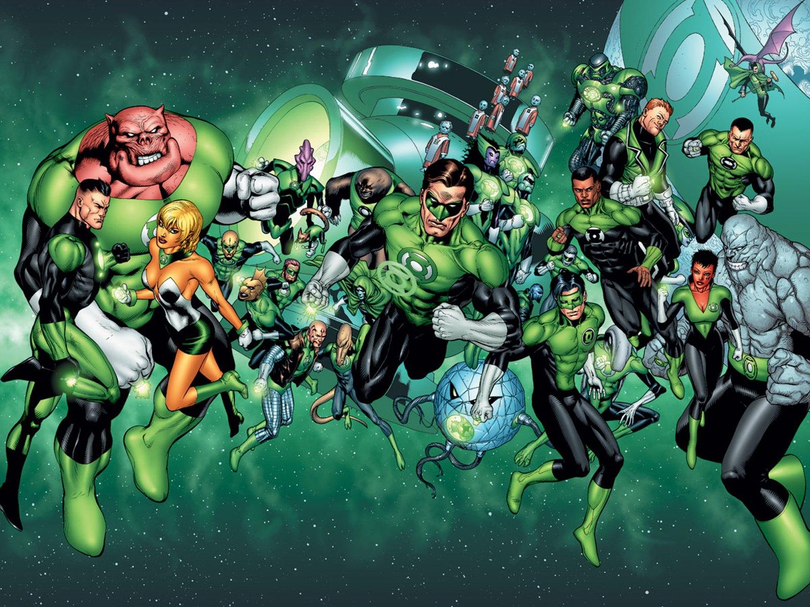 Green Lantern Corps podría contar con más de un héroe