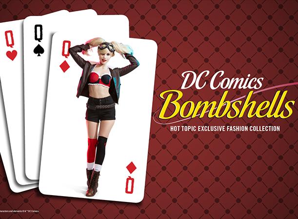 Hot Topic estrena colección de ropa de DC Bombshells