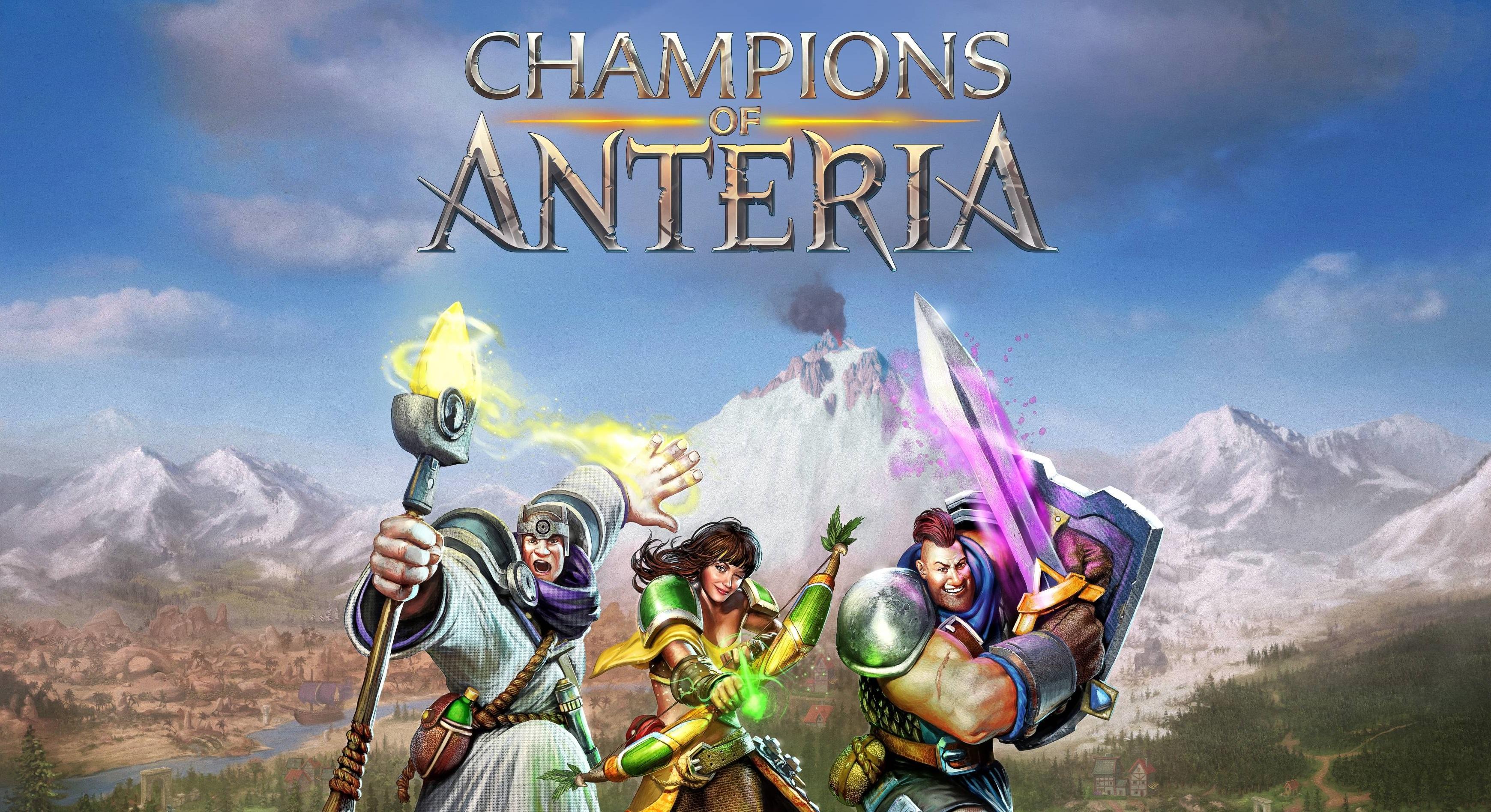 Ubisoft presenta su nuevo juego: Champions of Anteria