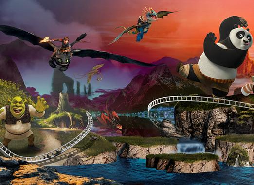 Motiongate Dubai te espera con sus 27 atracciones de DreamWorks, Sony y Lionsgate