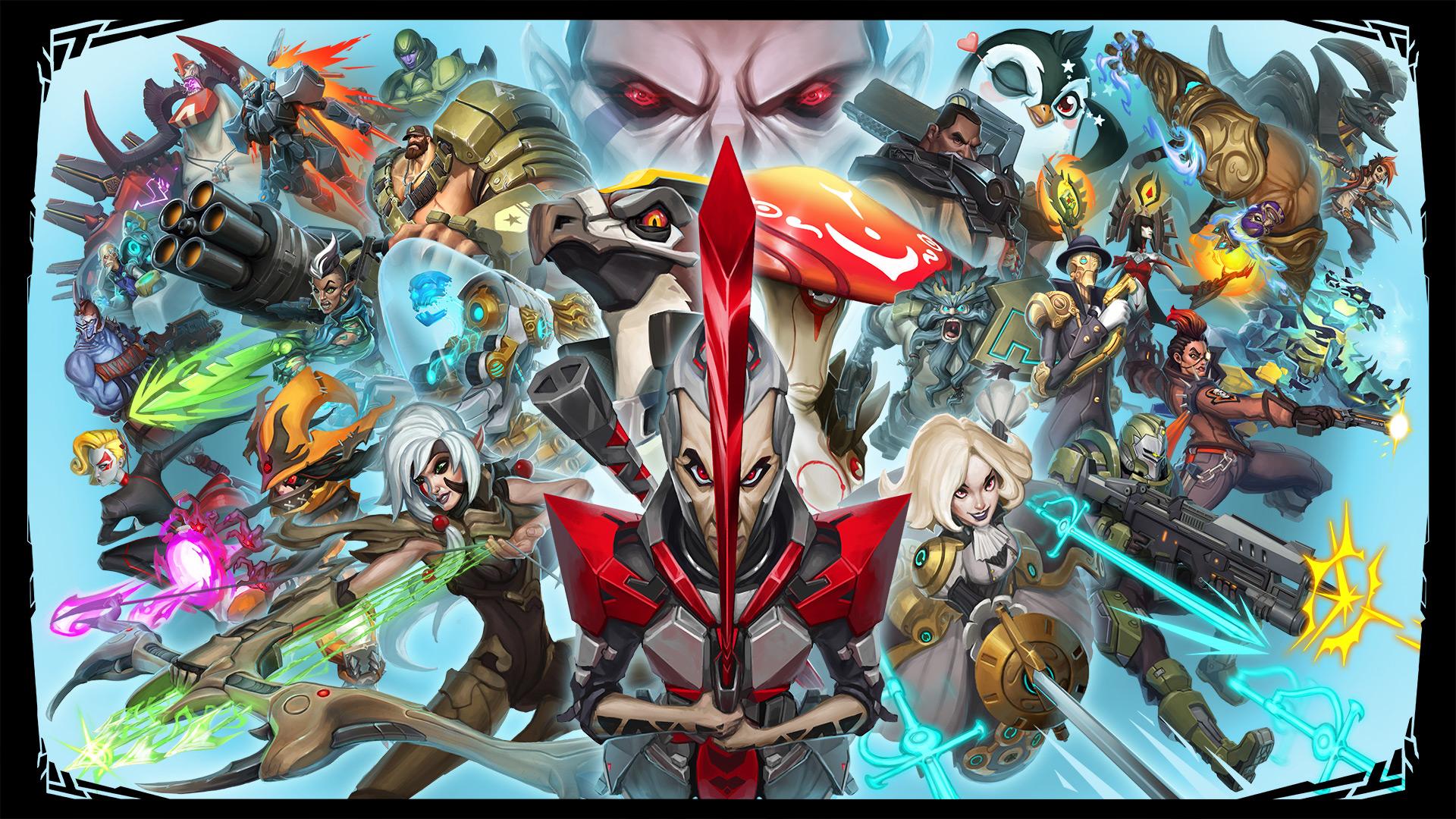 La historia de de Battleborn llega en comics animados