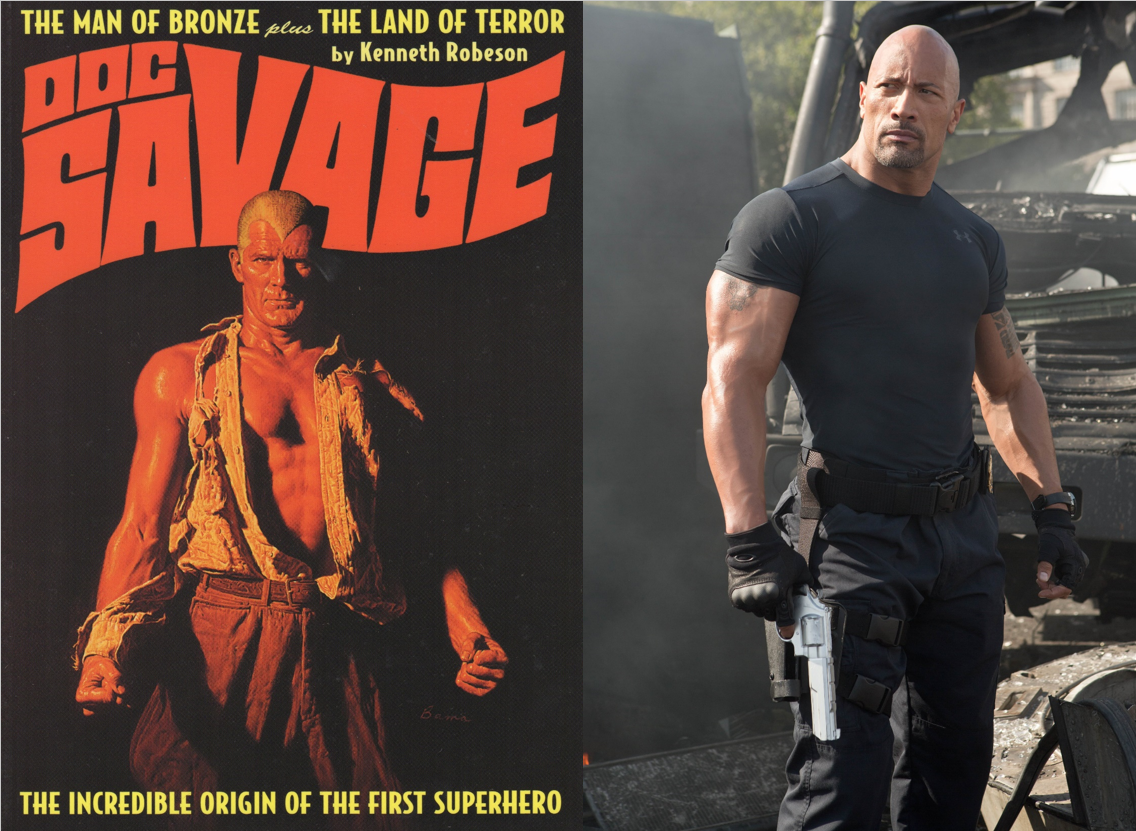 "Confirmado: Dwayne ""La Roca"" Johnson será Doc Savage"
