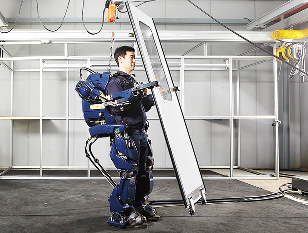 Hyundai + Exoesqueletos: ¿armadura à la IronMan?