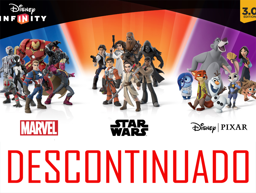 Disney descontinúa Disney Infinity