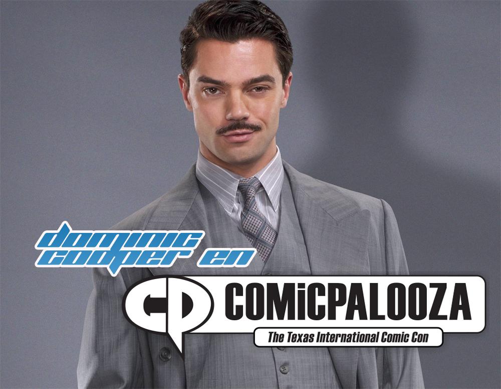 Comicpalooza 2016 anuncia a Dominic Cooper como invitado