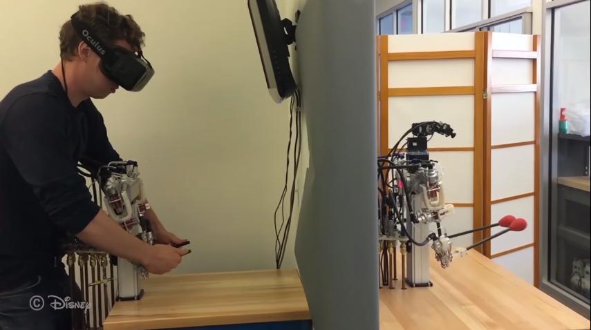 Disney crea un prototipo de telepresencia bastante preciso