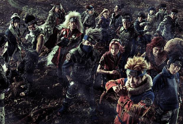 Revelados más personajes del musical de Naruto