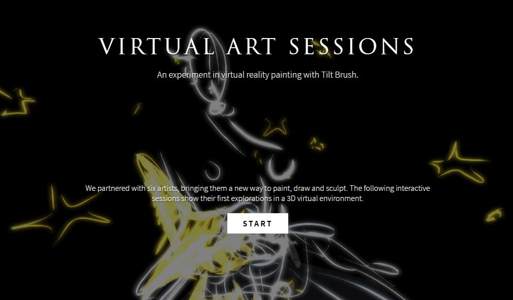 Virtual Art Sessions: Arte en nuestros navegadores