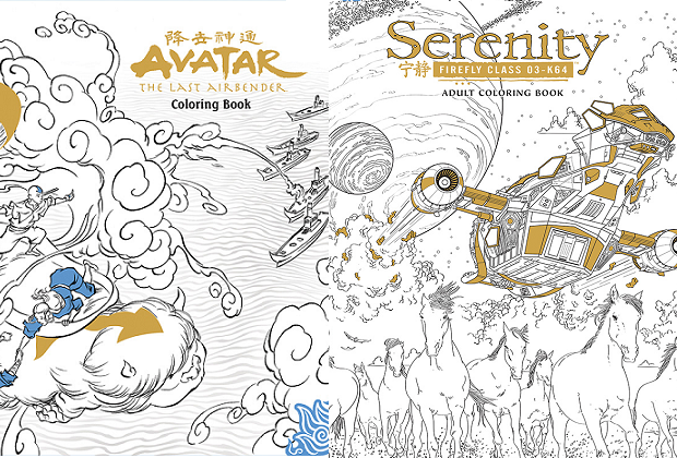 Saldrán libros de colorear para adultos de Avatar y Serenity | ModoGeeks
