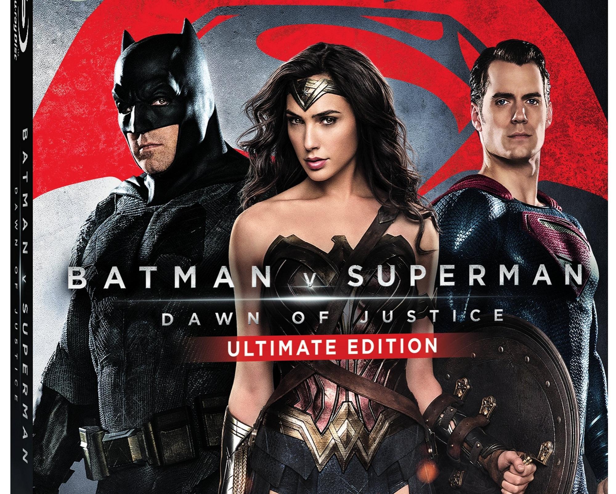 Detalles y trailer del Blu-ray de Batman v Superman