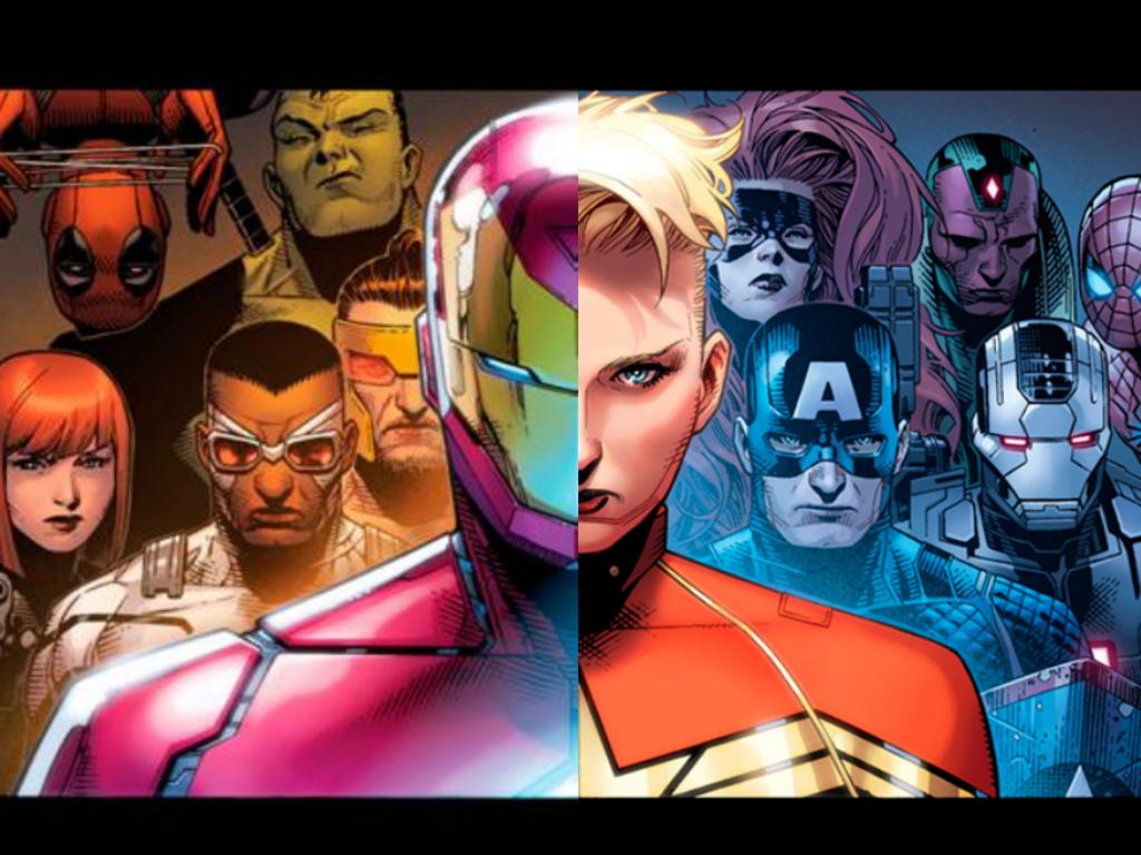 Marvel NOW! presenta cómo se dividirán los héroes después de Civil War II