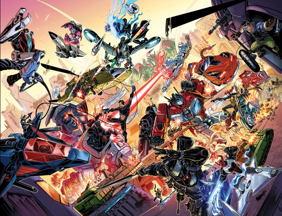 Revolution unirá las franquicias de Transformers, G.I. Joe y más