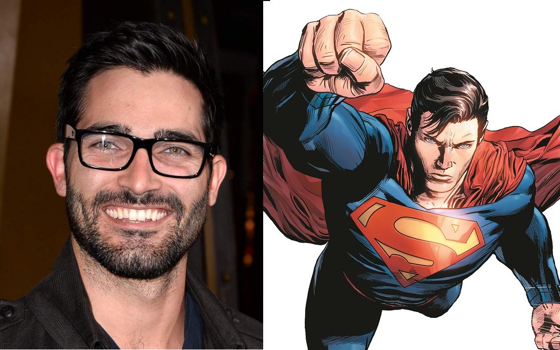 Tyler Hoechlin será el Superman de Supergirl