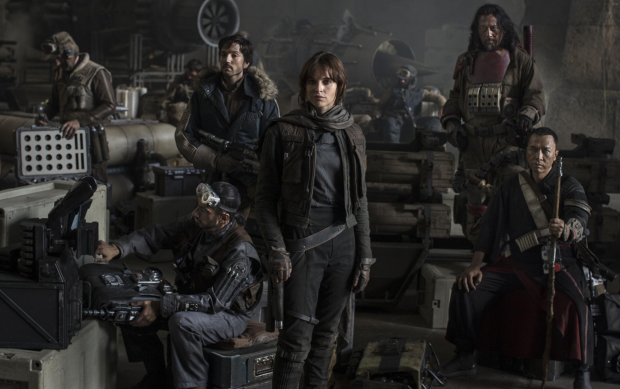 Darth Vader sí estará en Rogue One y conoce al resto de los personajes