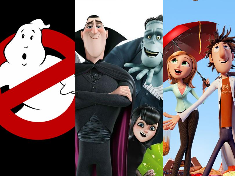 Series de TV anunciadas para Ghostbusters, Hotel Transylvania y Lluvia de Hamburguesas