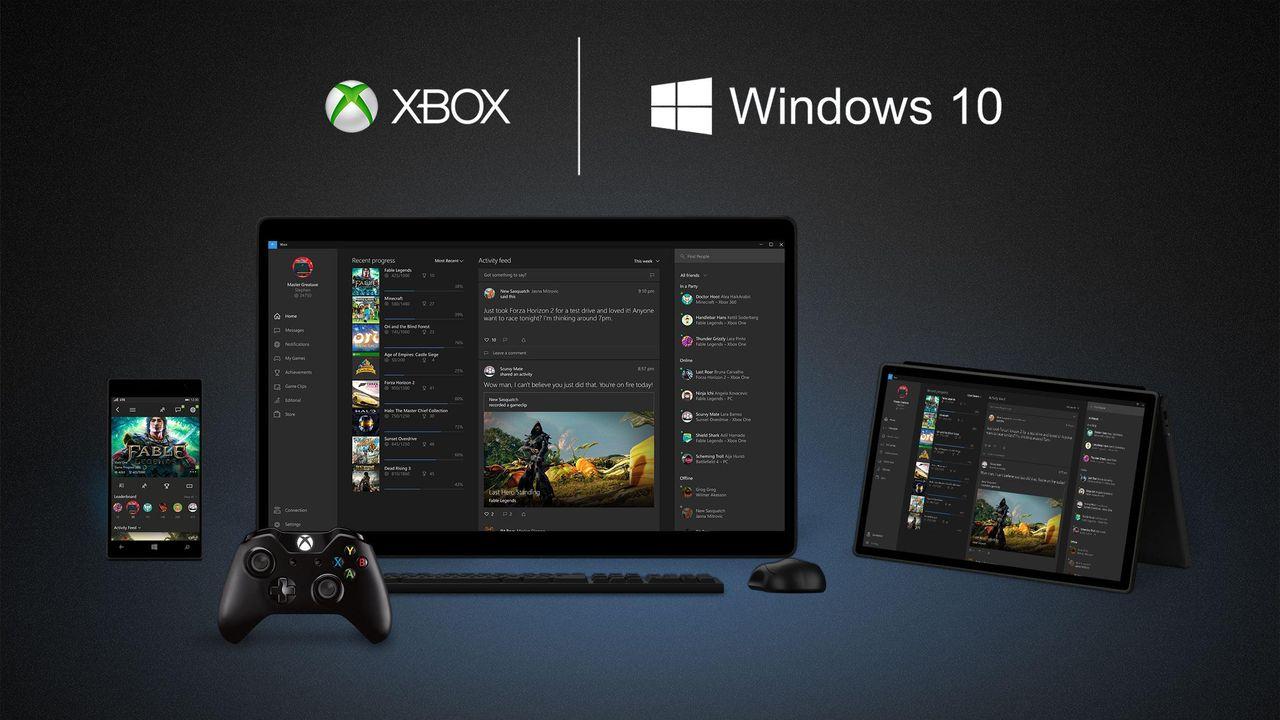 Soporte de ratón y teclado para Xbox One próximamente