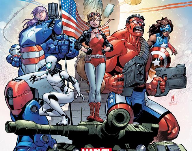 U.S.Avengers: El equipo más patriota de Marvel