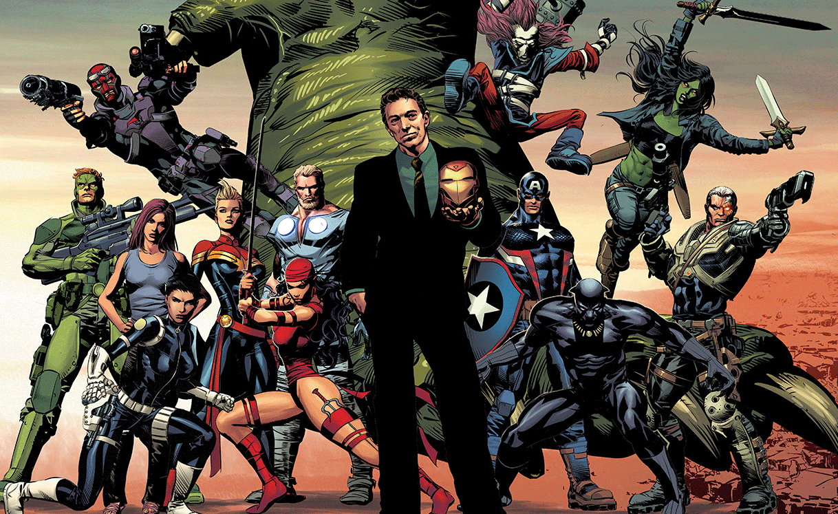 Marvel nos da un adelanto de Divided We Stand