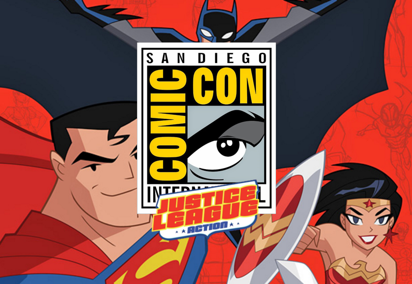 SDCC: Justice League Action, lo nuevo de DC