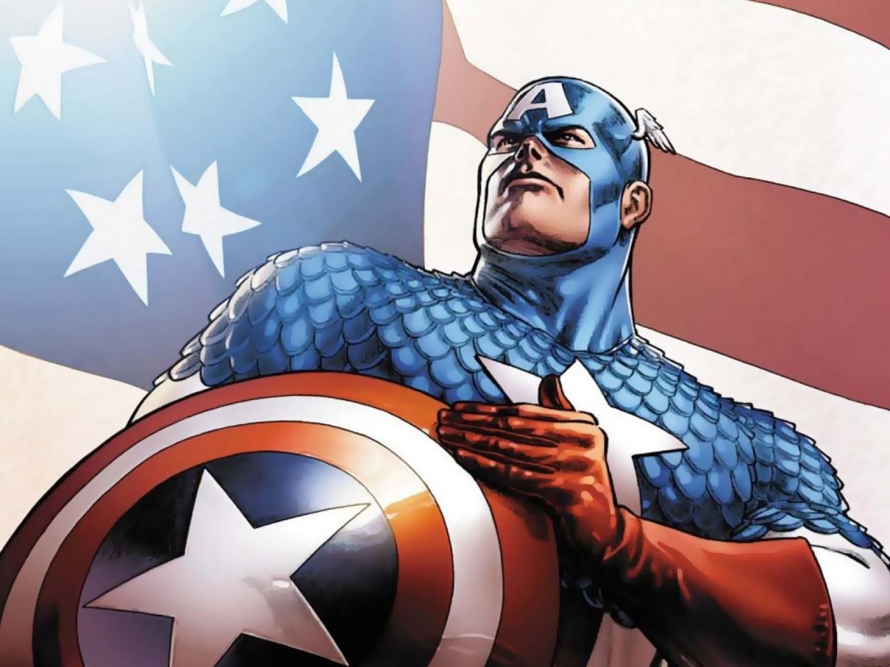 Marvel regala estatua de bronce al Capitán América por 75 años