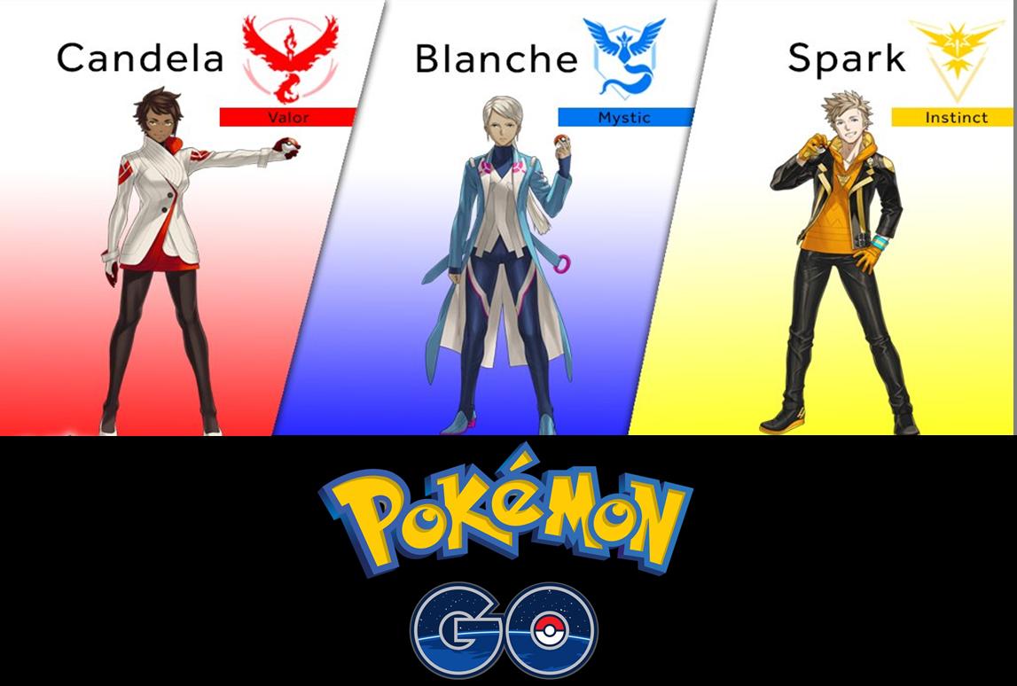 SDCC: Líderes revelados y más detalles de Pokémon Go