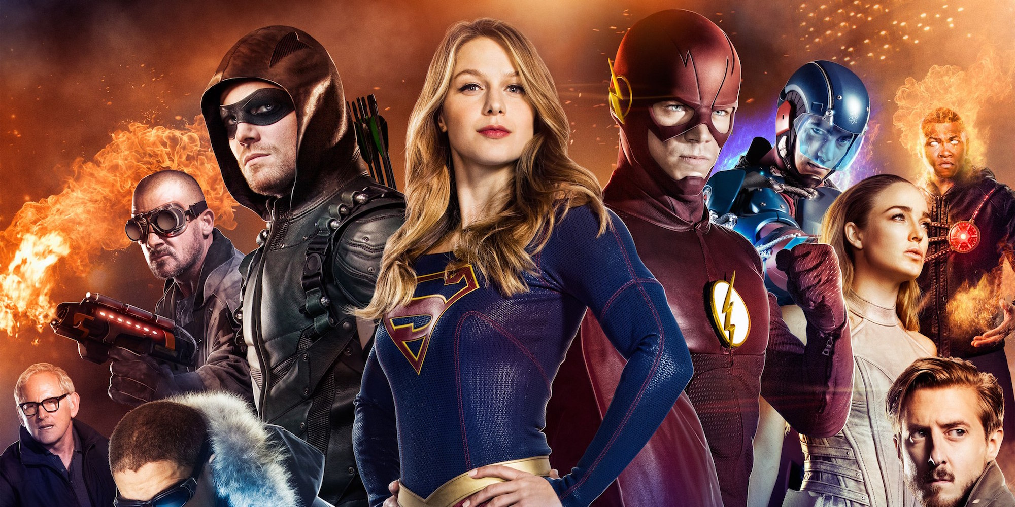 Supergirl será el eje del crossover de The CW y más sobre Superman