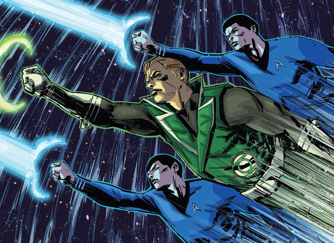 SDCC: IDW traerá nuevamente crossovers de Batman/TMNT y Star Trek/Green Lantern