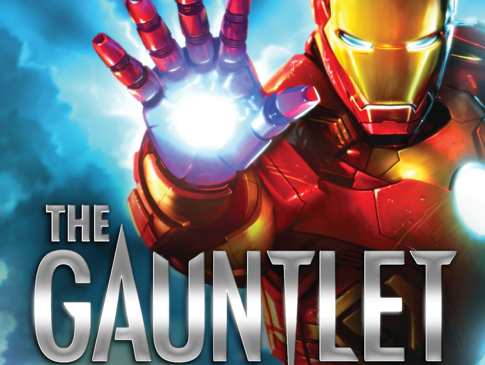 Eoin Colfer habla sobre The Gauntlet, su novela de Iron Man