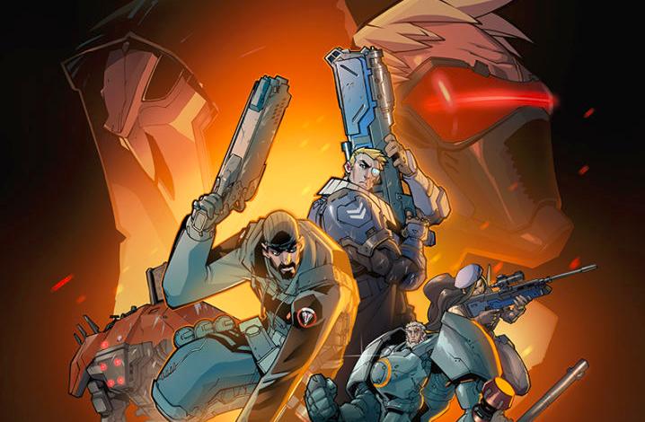 SDCC: Overwatch espera novela gráfica, libro de arte y mucho más