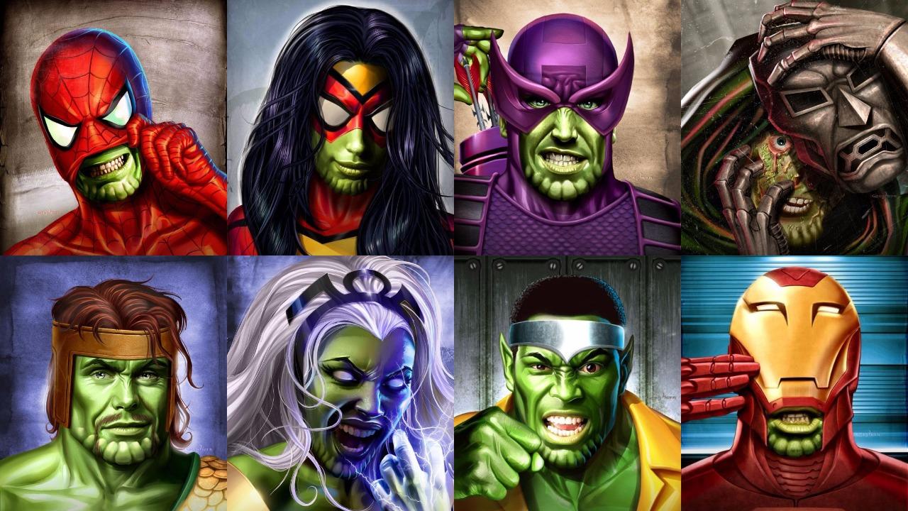 James Gunn confirma que los derechos de los Skrulls están compartidos