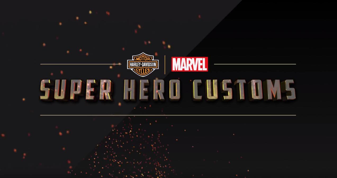 ¡Motos unidas! Marvel y Harley-Davidson se unen