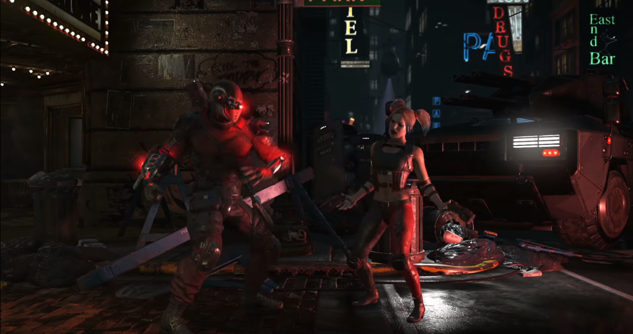 Confirmados Harley Quinn y Deadshot en Injustice 2