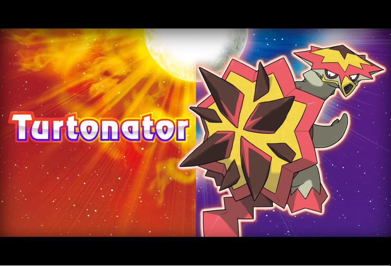 Turtonator, nuevo pokémon para Pokémon Sol y Luna