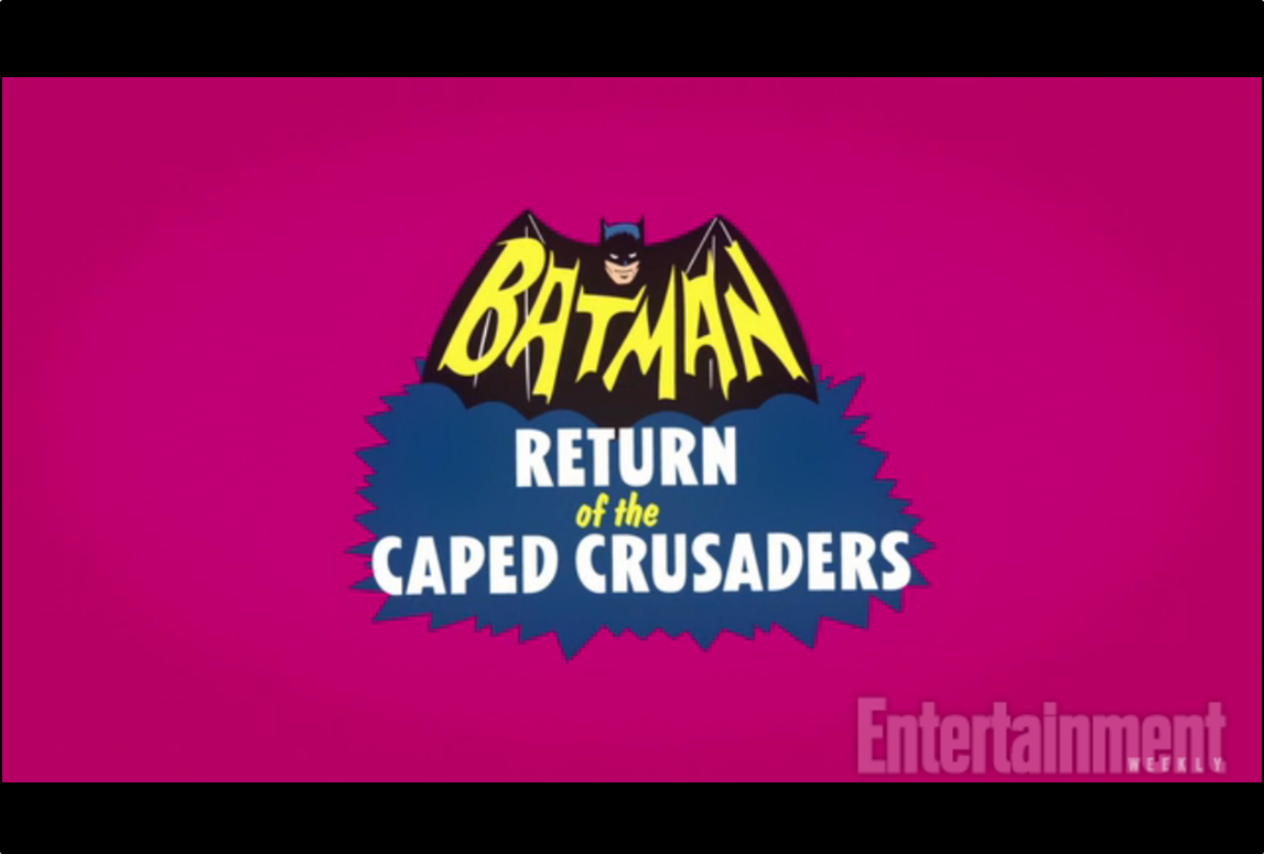 Adam West vuelve a ser Batman en Return of the Caped Crusaders