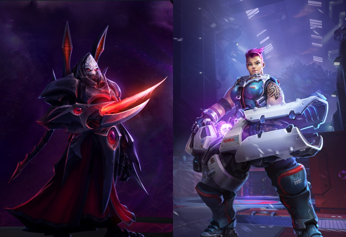 Heroes of the Storm: StarCraft y Zarya invaden el Nexo