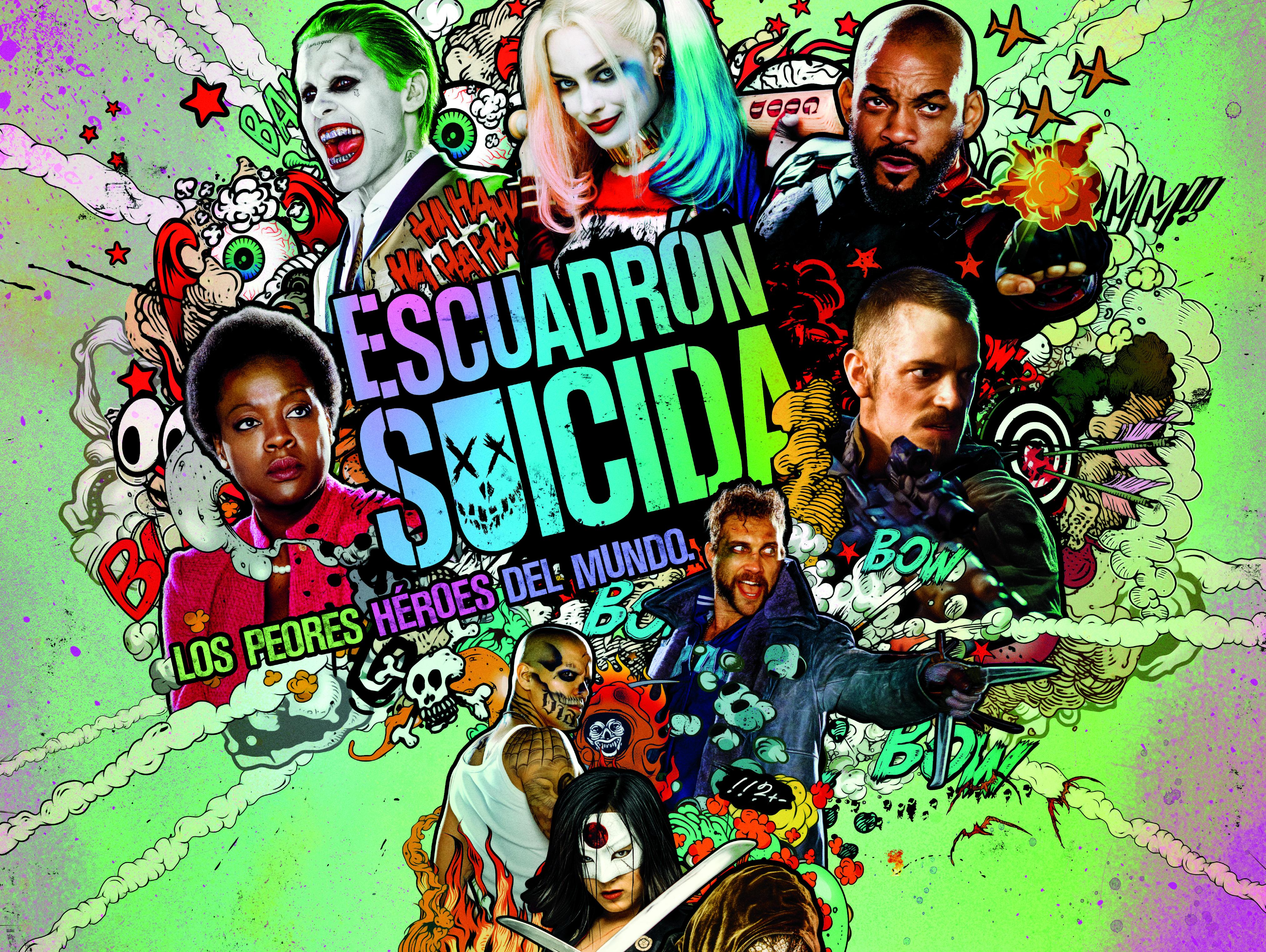 Titulares ModoGeeks: Escuadrón Suicida, Animales Fantásticos, Good Omens y más