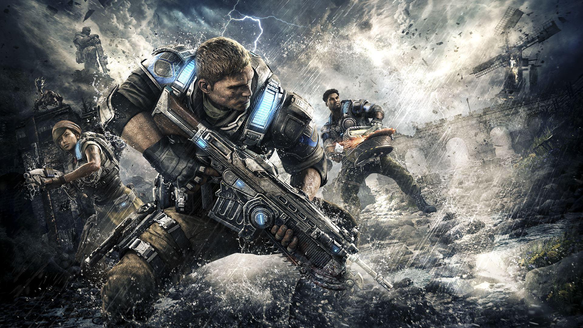 Conoce a los nuevos personajes de Gears of War 4