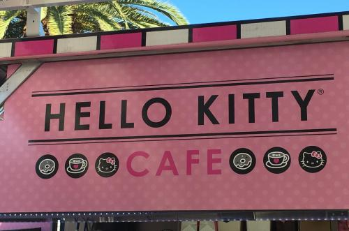 Ya abrió el primer cafe de Hello Kitty en EEUU