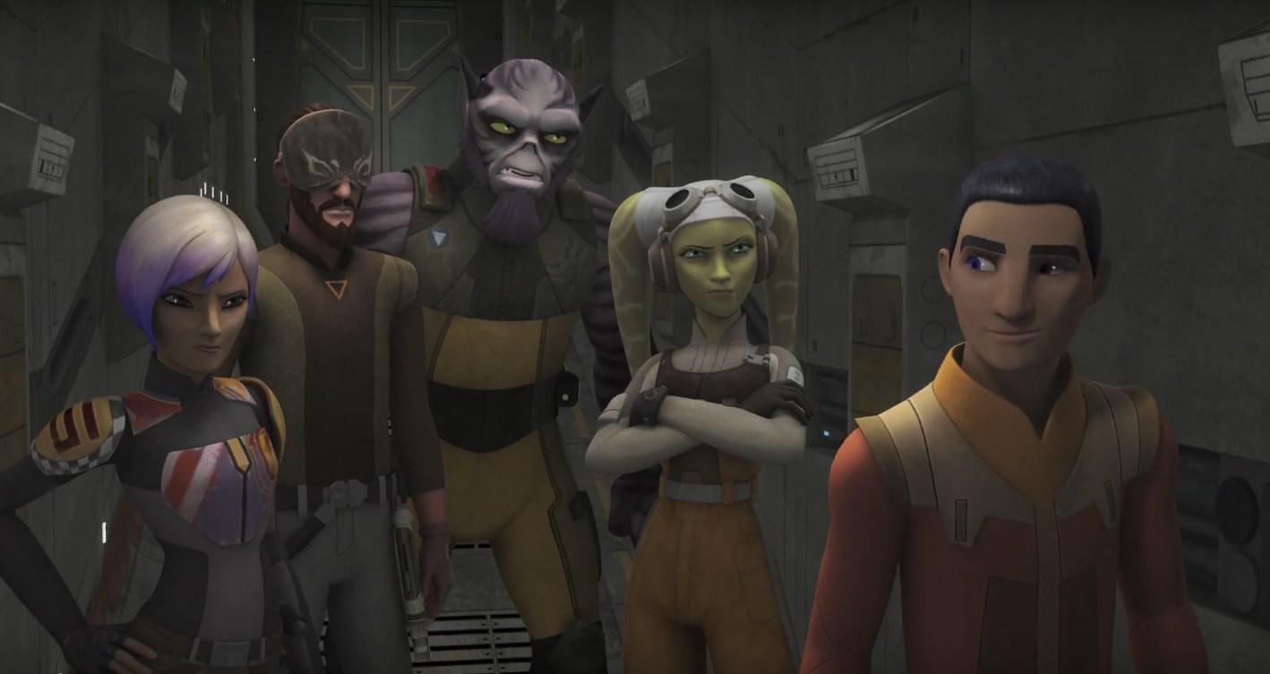 La tercera temporada de Star Wars Rebels tiene fecha, sinopsis y poster