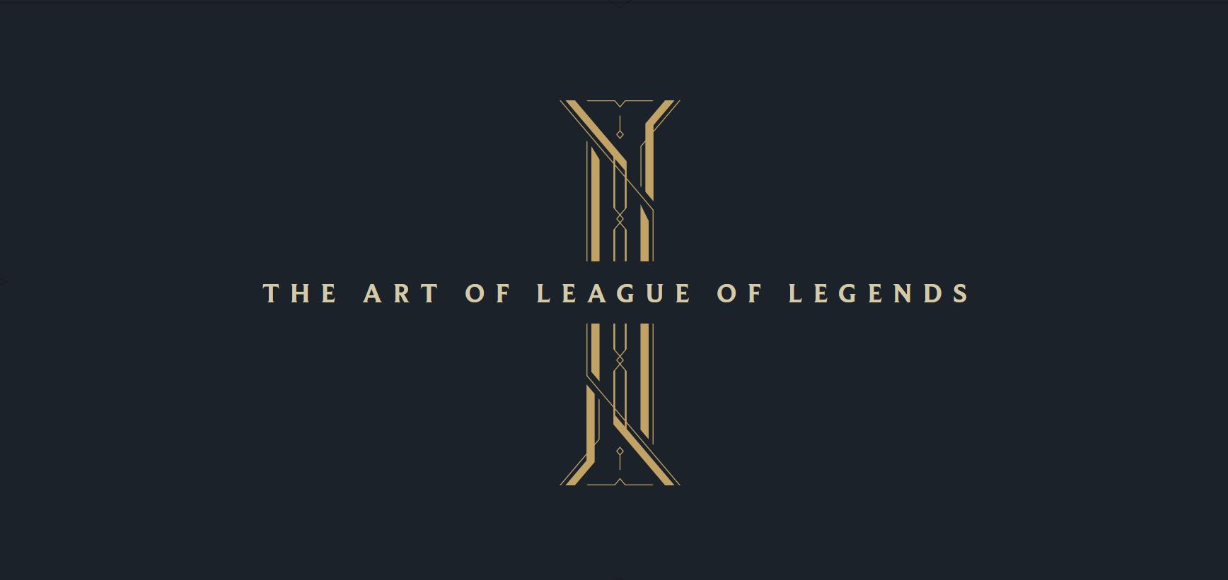 League of Legends ya tiene artbook digital… y es gratuito